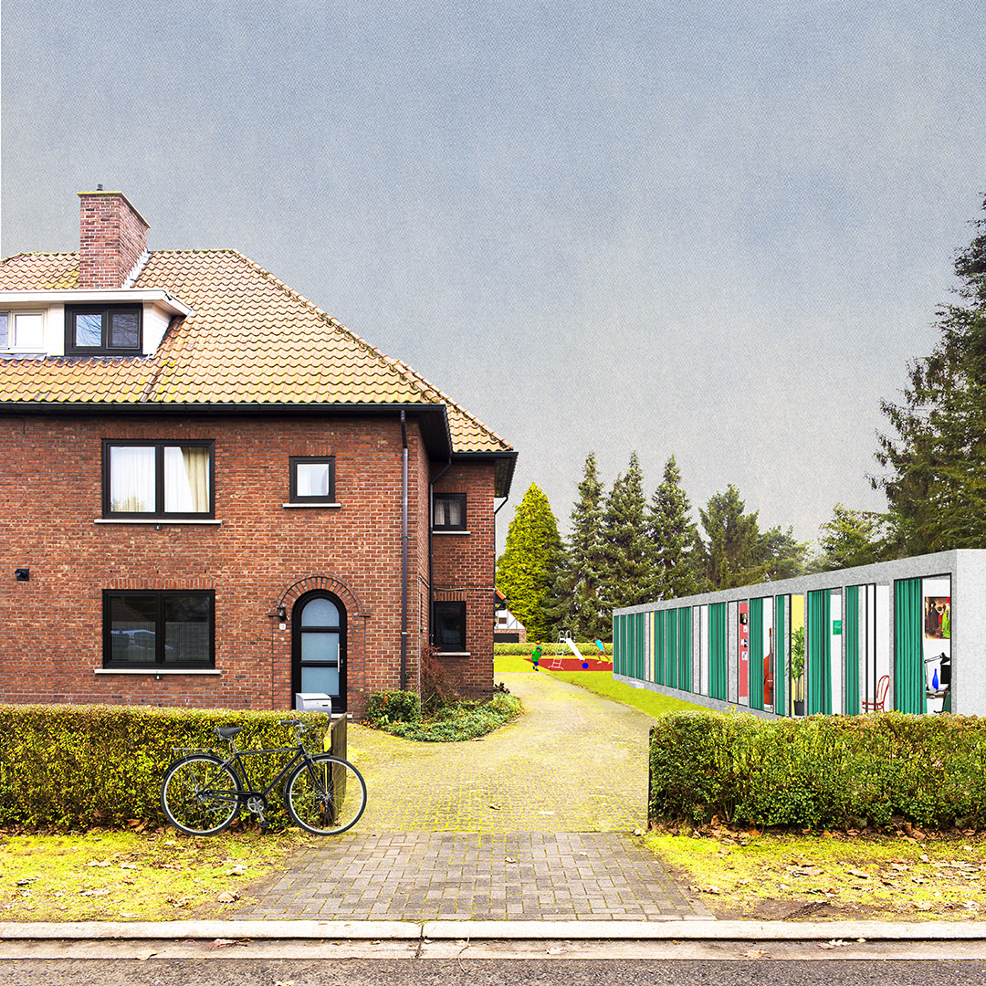 Densification of the Garden city – view of a new house